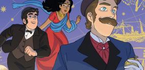 """Classici a fumetti: intervista a Giopota, illustratore de """"Il giro del mondo in 80 giorni"""""""