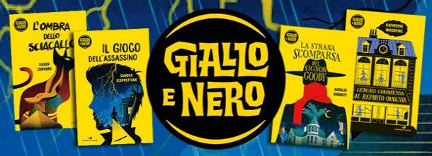 Suspense, crimini, enigmi, per un'estate inGialloe Nero!
