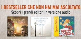 I grandi autori Mondadori arrivano in audiobook su Audible