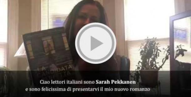 Sarah Pekkanen, saluto ai lettori italiani.
