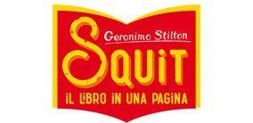 SQUIT, i libri che si leggono tutti in una pagina di Geronimo Stilton!