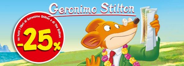 Scopri la promozione sui libri di Geronimo e Tea Stilton!