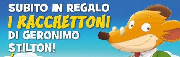 Trascorri un'estate StraTopica con i racchettoni di Geronimo Stilton!